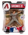 "Zack Greinke (Arizona Diamondbacks) 2016 MLB 6"" Figure Imports Dragon"