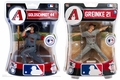 "Zack Greinke/Paul Goldschmidt (Arizona Diamondbacks) MLB 2016 6"" Figure Imports Dragon Set (2)"