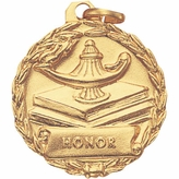 1-1/8 INCH MEDAL, HONOR