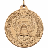 2 INCH OUTSTANDING CITIZEN MEDAL, GOLD