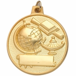 2 INCH SCHOLASTIC ACHIEVEMENT MEDAL - MULTIPLE COLORS