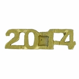 2014 CHENILLE PIN GOLD