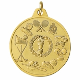 ALL SPORTS GENERAL MEDAL - MULTIPLE COLORS