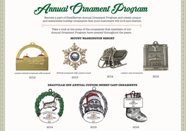 Annual Ornament Program