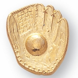 BASEBALL GLOVE CHENILLE PIN