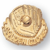 BASEBALL/GOLDEN GLOVE CHENILLE