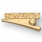 BASEBALL HOMERUN CHENILLE PIN