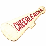 CHEERLEADER MEGAPHONE PIN