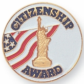 CITIZENSHIP AWARD PIN