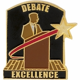 DEBATE EXCELLENCE PIN