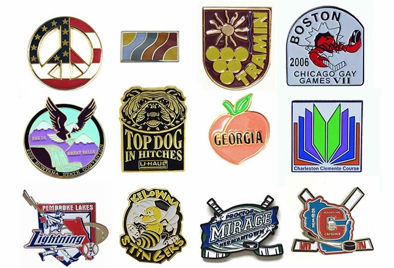 Die Struck Soft Enamel Lapel Pins