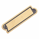 LARGE SERVICE BAR ENAMELED PIN