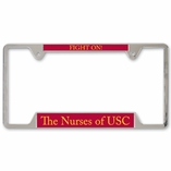 METAL LICENCE PLATE FRAME