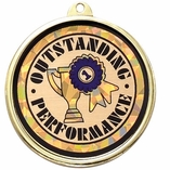OUTSTANDING PERFORMANCE MYLAR MEDAL