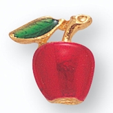 RED & GREEN APPLE PIN