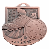 SOCCER MEDAL - MULTIPLE COLORS