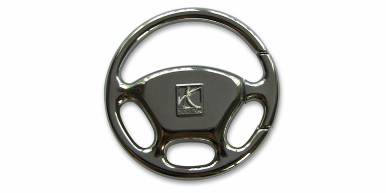 Steering Wheel Key Chain