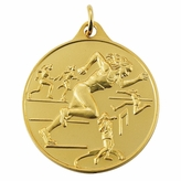 TRACK FEMALE GENERAL MEDAL - MULTIPLE COLORS
