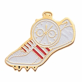TRACK SHOE & WATCH ENAMEL PIN