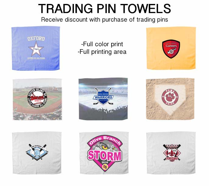 Trading Pin Towel