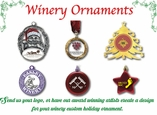Winery Ornaments