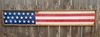 American Flag Distressed Wood Sign