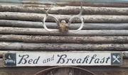 Bed and Breakfast Distressed Wood Sign