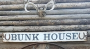 Bunk House Distressed Wood Sign