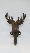 Cast Iron Elk Coat Hook Set of 2