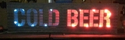 Cold Beer Lit Sign