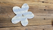 Corrugated Barn Tin Flower Petals Small