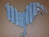 Corrugated Metal Rooster