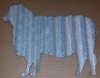 Corrugated Metal Sheep