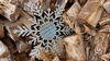 Corrugated Metal Snowflake #3