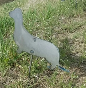 Dachshund Dog Critter with metal stake