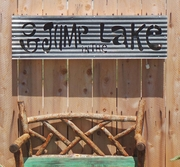 Go Jump in the Lake Lit Sign