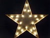 Industrial Marquee Star Light Vintage Style