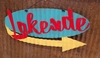 Lakeside Mid-Century Retro Mini Sign