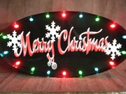 Large Merry Christmas Marquee