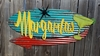 Margaritas Mid-Century Retro Sign