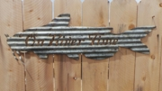 River Time Catfish Wall Hanging