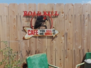 Road Kill Cafe with Buzzard