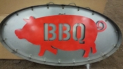 Small BBQ Pig Marquee