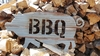 Small Corrugated Metal BBQ Pig