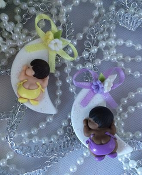 Moon Babyshower Favor