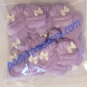 Lavender Baby Bootie B031