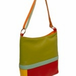 6097 Block Shoulder Bag