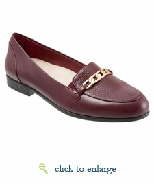 Anastasia by Trotters (Burgandy Leather)