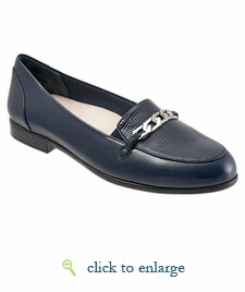 Anastasia by Trotters (Navy Leather)