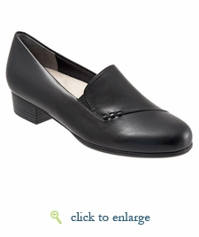 Moment by Trotters (Black Leather)